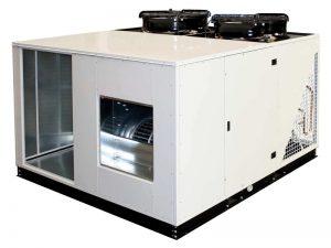 Автономные моноблочные установки с секцией охлаждения и тепловым  насосом BOXY