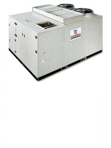 Автономные конденсационные установки с газовым теплообменником, тепловым насосом и рекуператором KLIMAXS