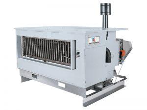 Подвесные газовые воздухонагреватели с центробежным вентилятором для установки снаружи помещений UT/K