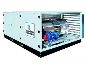 Автономные конденсационные модульные установки с двумя ступенями расхода воздуха и встроенным каналом рециркуляции UTAK
